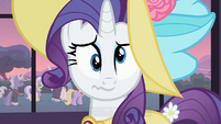 Rarity cross-eyed S02E09