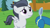 Rumble smiling at his big brother S7E21
