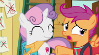 Scootaloo --don't have to do everything together-- S6E4
