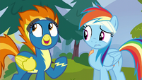 "Spitfire ""ever since you joined the Reserves!"" S6E7"