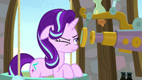 Starlight Glimmer observing Discord's ghost S8E15