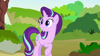 Starlight surprised by Pharynx's appearance S7E17