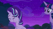 Starlight wiping her tears away S6E6