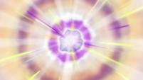 Sunset Shimmer's magic geode vision EGDS5