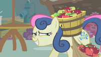 Sweetie Drops thinks that's enough apples S01E12
