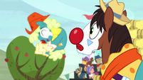 Trouble Shoes watches tumbling rodeo clowns S5E6