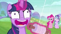 Twilight Sparkle laughing maniacally MLPS4