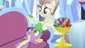 Crystal Pony feeding Spike gems S4E24.png