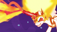 Daybreaker blasts Nightmare Moon with magic S7E10