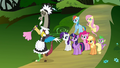 Discord dressed as French maid S4E02.png