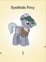 Eyeshade Pony MLP Gameloft