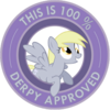 FANMADE Derpy approved