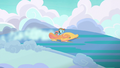 Filly Rainbow racing in the Cloudsdale Derby S6E14.png