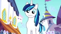 First glimpse of Shining Armor S02E25