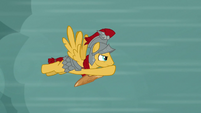 Flash Magnus flying at high speed S7E16