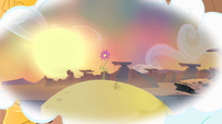 Flower on top of hill S4E11