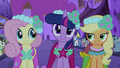 Fluttershy, Twilight and Applejack S2E26.png