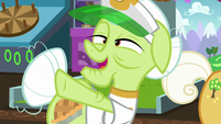 "Granny Smith ""all that horseshoe tossin'"" S8E5"