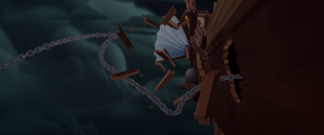File:Harpoon punctures one of Celaeno's ships MLPTM.png