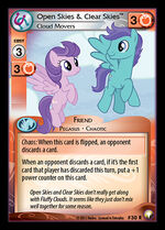 Open Skies & Clear Skies, Cloud Movers card MLP CCG