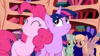 Pinkie Pie 'if it were quiet' S1E1