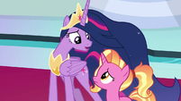 "Princess Twilight ""I was unsure"" S9E26"