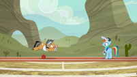 Quibble kicks the ball and misses S9E6