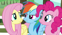 "Rainbow Dash ""we've got two-thirds of a team"" S6E18"