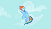 Rainbow Dash derp face S02E08