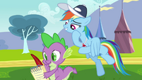 Rainbow Dash not bad S2E22