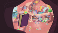 Rogue Parasprite lifts book in Twilight's library S1E10.png