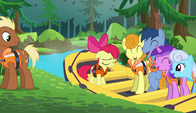 S06E04 Apple Bloom na pontonie