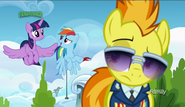 S06E24 Spitfire, Twilight Sparkle i Rainbow Dash