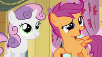 "Scootaloo ""we'll totally solve them"" S6E4"