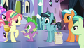 Spike and Crystal Hoof give out autographs S6E16.png