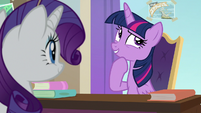 "Twilight ""he could just come to our school"" S8E16"