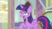 "Twilight Sparkle ""a little tiny something"" MLPS4"