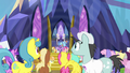 Twilight Sparkle yelling loudly at the ponies S7E14.png