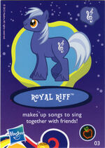 Wave 8 Royal Riff collector card