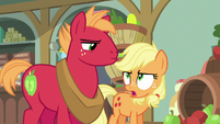 Young Applejack --what Big Mac means is-- S6E23