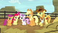 AJ, Braeburn, and CMC hear Silverstar S5E6.png