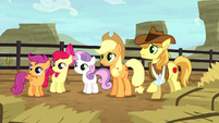 AJ, Braeburn, and CMC hear Silverstar S5E6