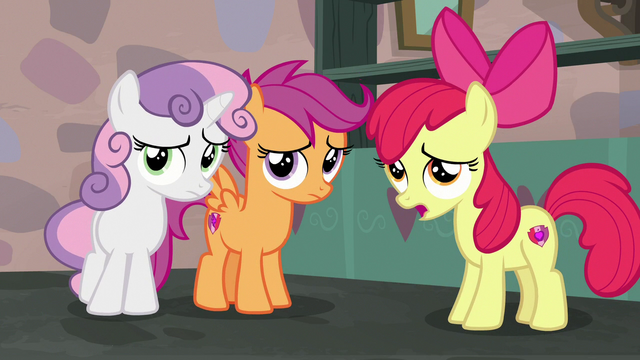 "File:Apple Bloom ""if we hadn't put him up to it"" S7E8.png"