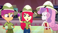 Apple Bloom holding the movie tickets SS11.png