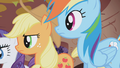 Applejack and Rainbow Dash side by side S1E02.png
