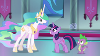 Celestia -you want me to star in your play-!- S8E7