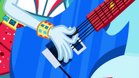 Closeup of Rainbow Dash's guitar EG2