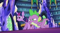 Expresiones de confianza de Twilight y Spike EG2