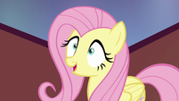 Fluttershy mechanically --they ran away-- S6E21