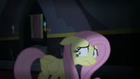 Fluttershy scared of the dark castle S5E21
